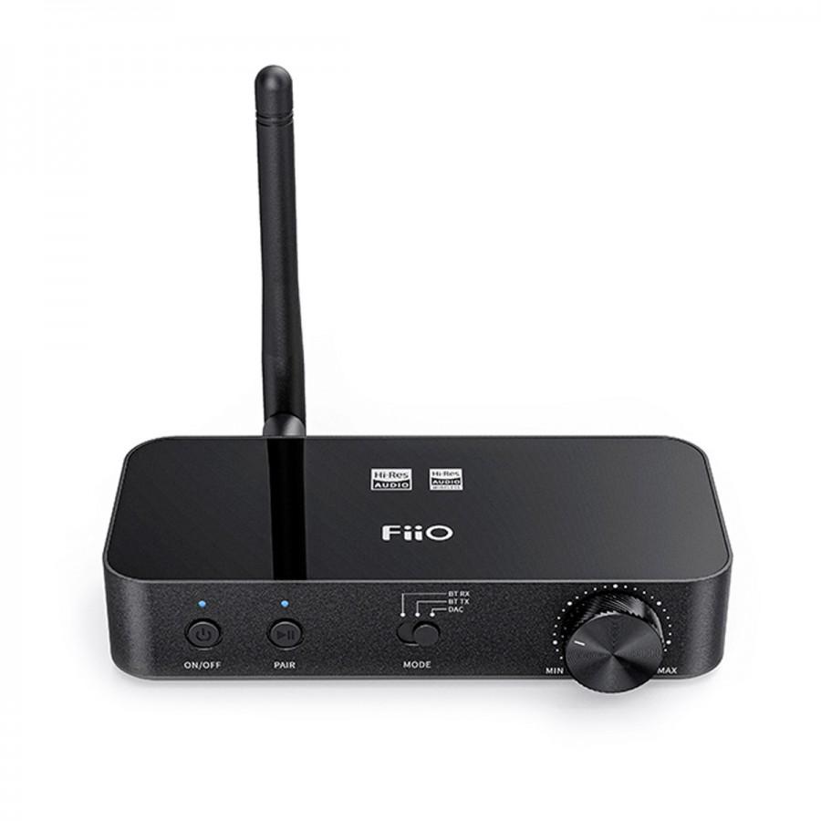 FiiO BTA30 Bluetooth 5.0 Receiver / Transmitter CSR8675 DAC AK4490 aptX-HD LDAC 24bit 192kHz - Audiophonics