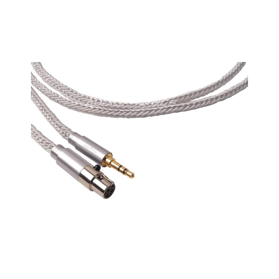 1877PHONO CALI WHITE 3.5-MINI XLR Headphone Cable Jack 3