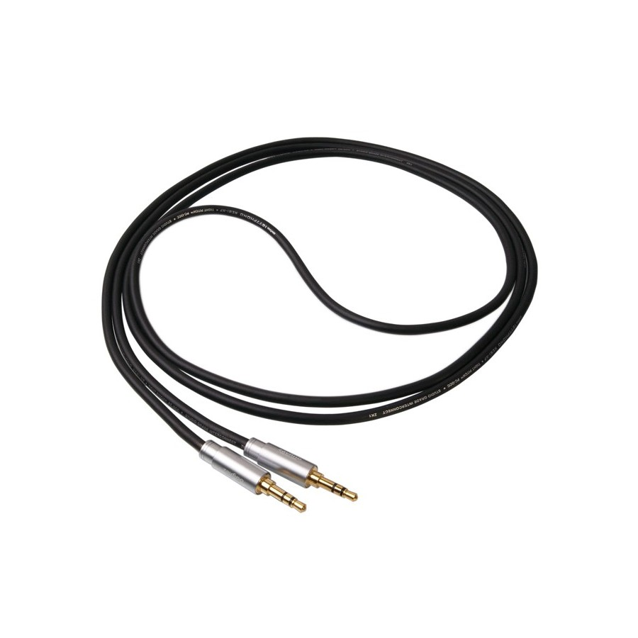 1877PHONO Hemi-HP Graphite Cable Jack 3.5mm / Jack 3.5mm