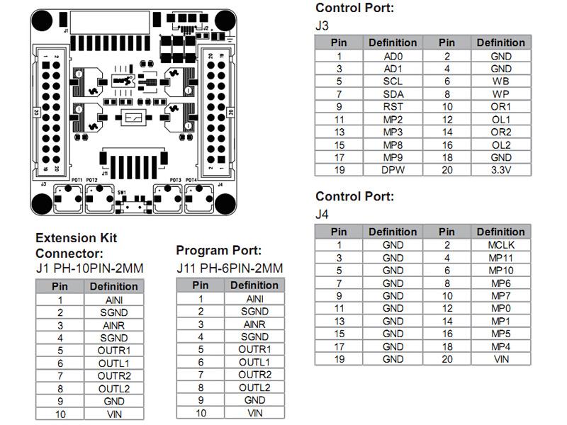 WONDOM ADAU1701 DSP Audio Digital Signal Processor Kernel