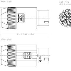 Powercon Wiring Diagram 66 Mustang Power Steering Nl8fc | Speakon Nl8 Female Speaker Cord End
