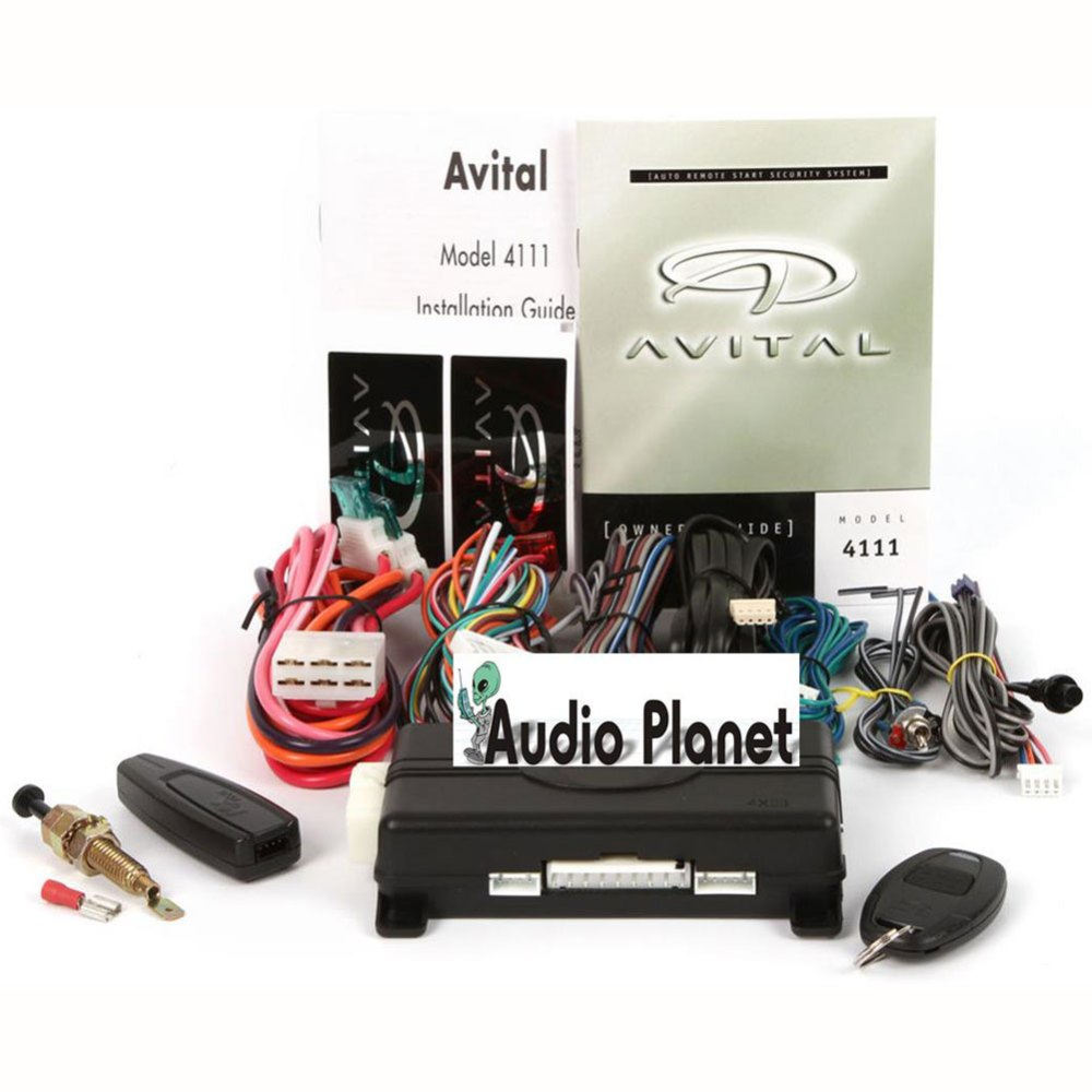 medium resolution of avital 4111 remote start system wiring wiring diagram data val avital 4111 wiring diagram