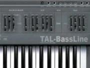 Free Audio Plugin - Tal-BassLine