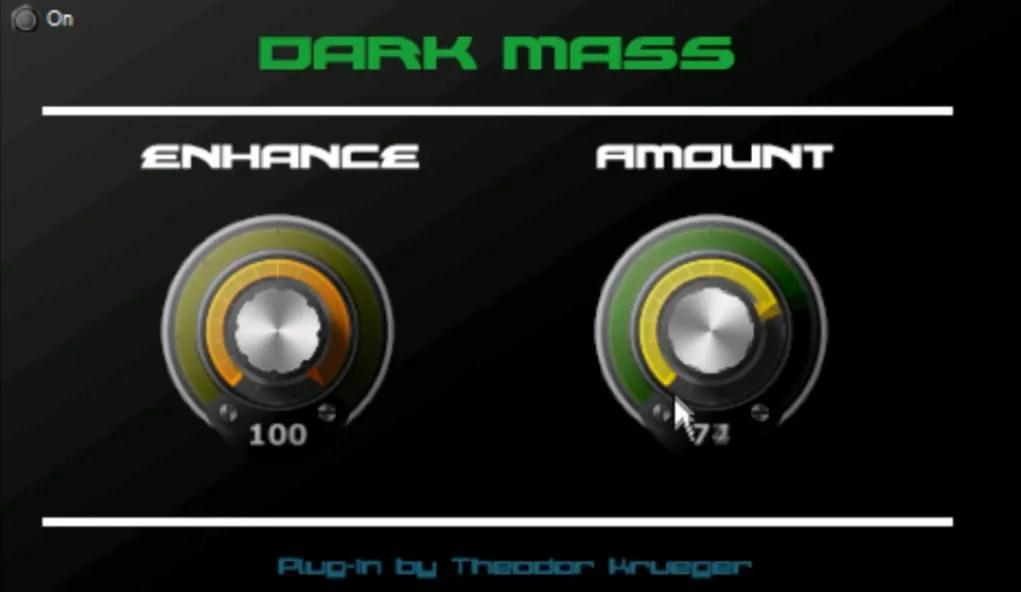 dark mass exciter enhancer audio plugins for free. Black Bedroom Furniture Sets. Home Design Ideas