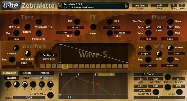 Zebralette Synth Audio Plugins For Free