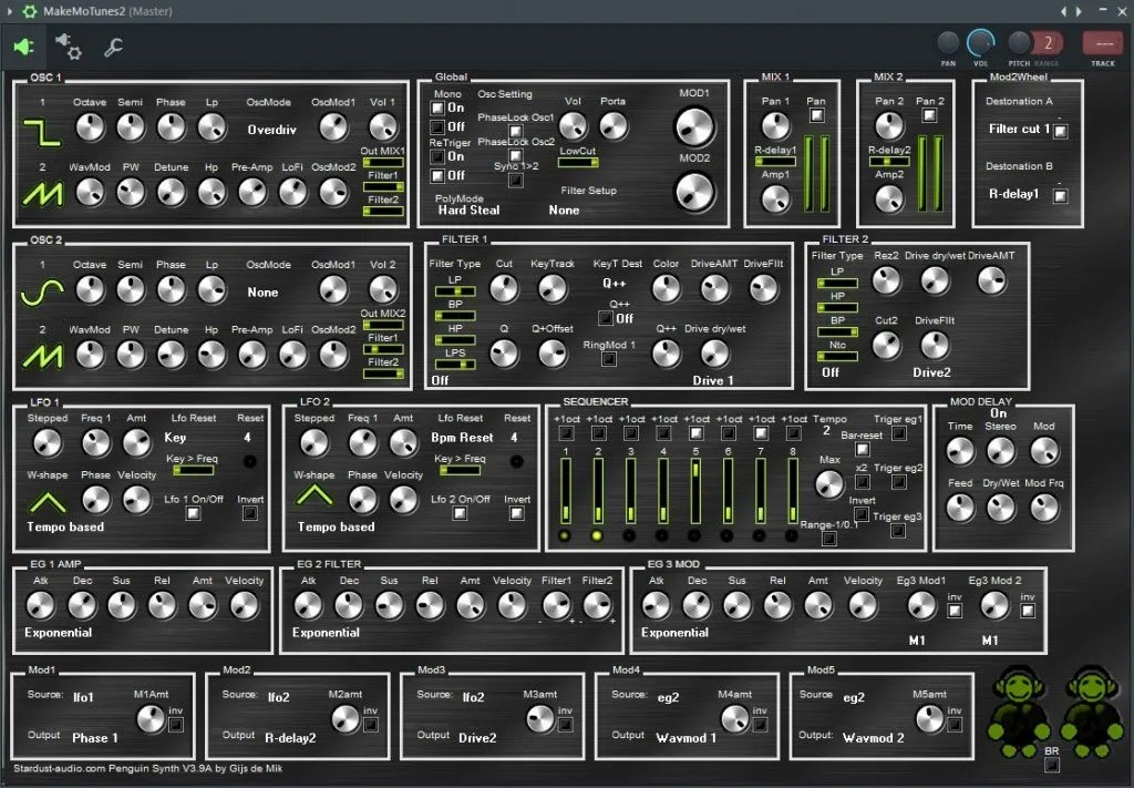 Penguin synth   Audio Plugins for Free