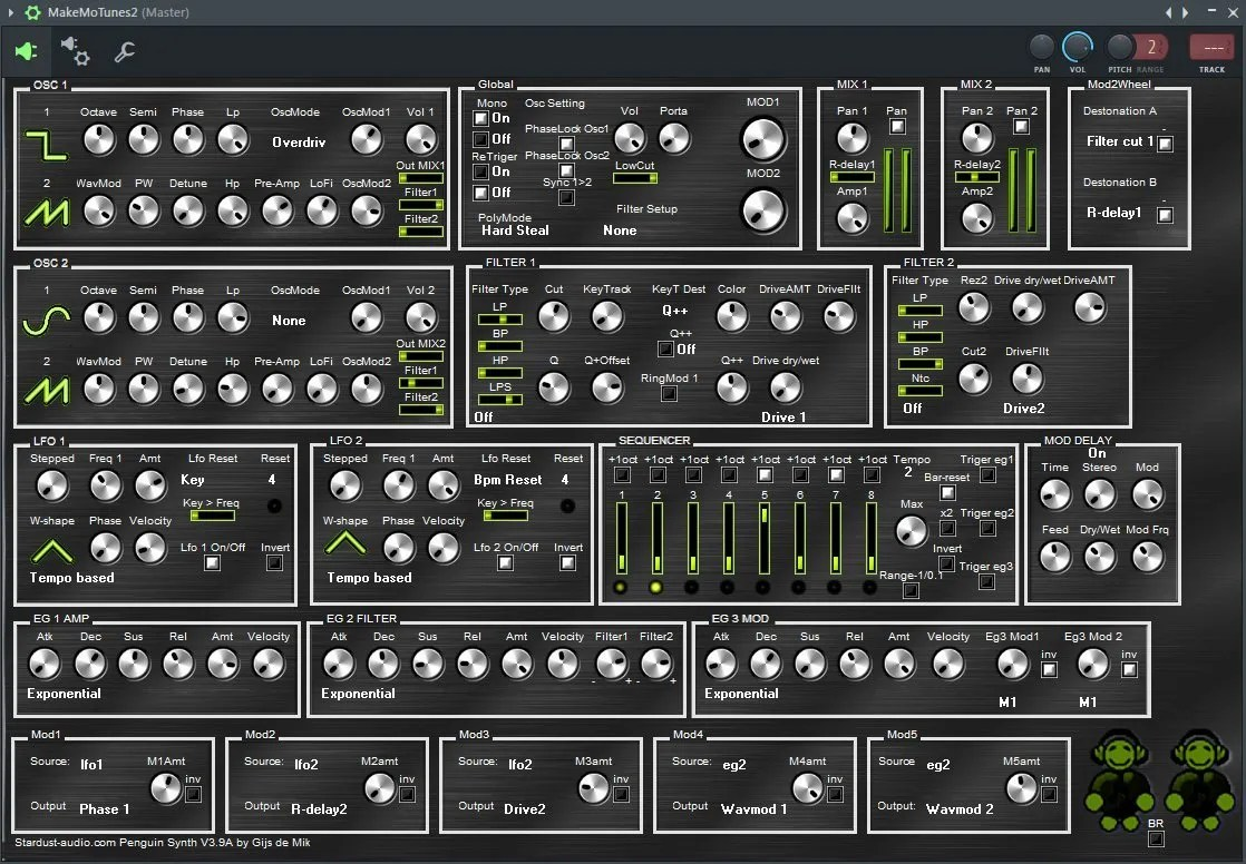 Penguin Synth Synth Audio Plugins For Free