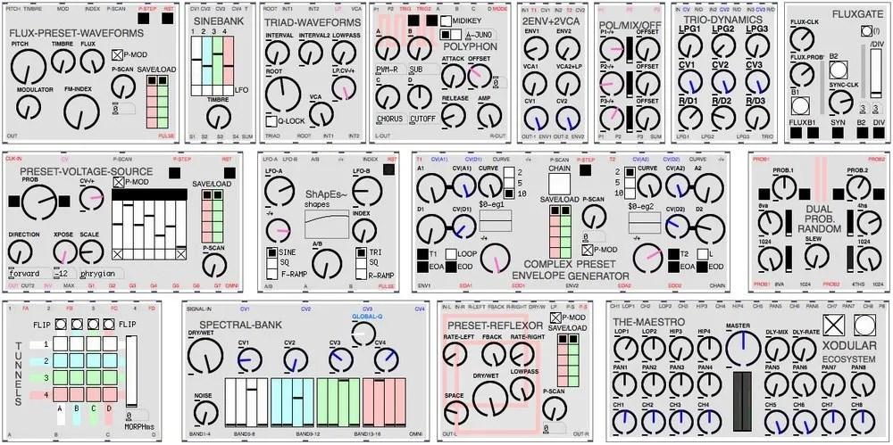 Xodular ecoSYSTEM | Audio Plugins for Free