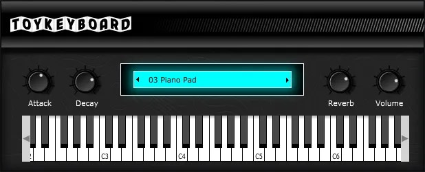 Toy Keyboard (Rompler) • Audio Plugins for Free