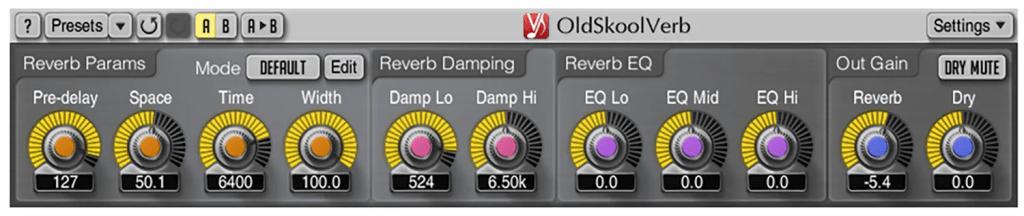 oldskoolverb | Audio Plugins for Free