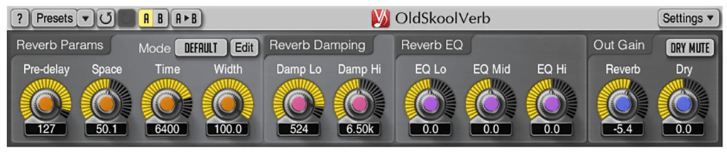 oldskoolverb | Audio Plugins for Free