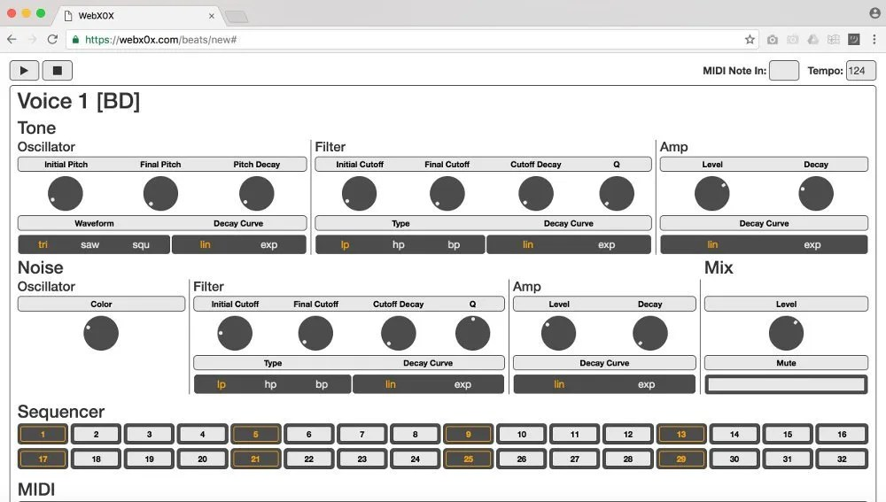 WebX0X | Audio Plugins for Free