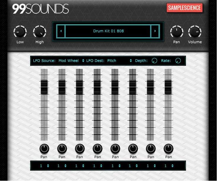 Drum Machine (Drum machine, Rompler) • Audio Plugins for Free