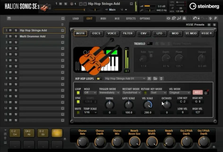 Hip Hop Strings   Audio Plugins for Free