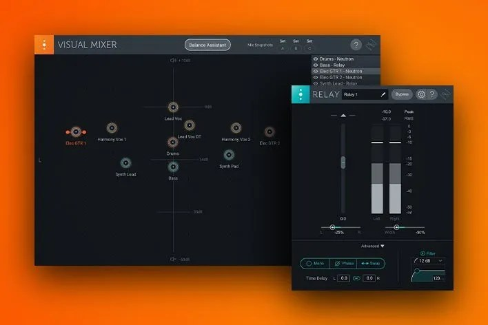 izotope Visual Mixer | Audio Plugins for Free
