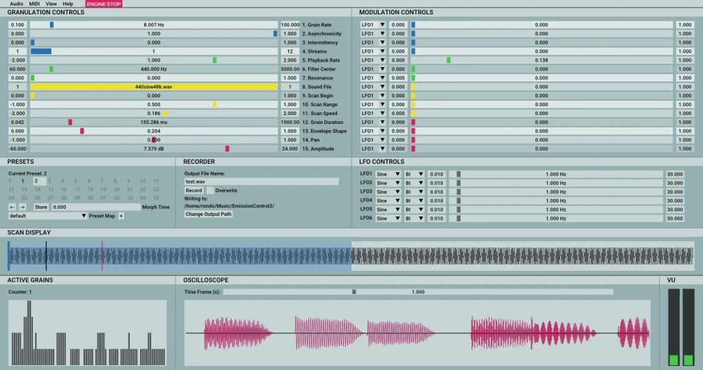 EmissionControl2 | Audio Plugins for Free