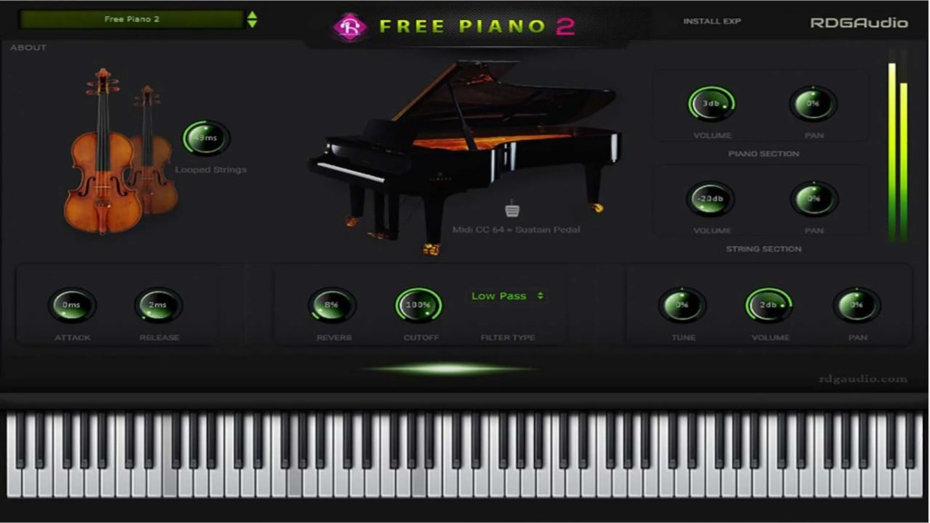 Free Piano 2 | Audio Plugins for Free