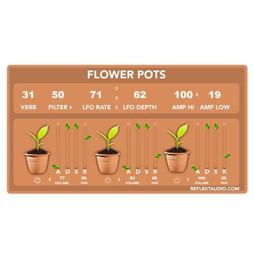 Flower Pots | Audio plugins for free