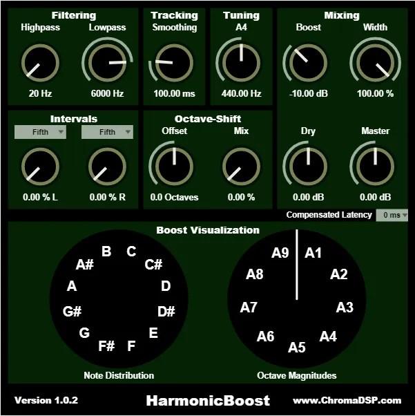 HarmonicBoost | Audio plugins for free