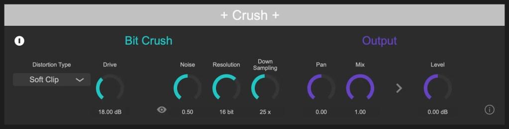 Crush | Audio plugins for free