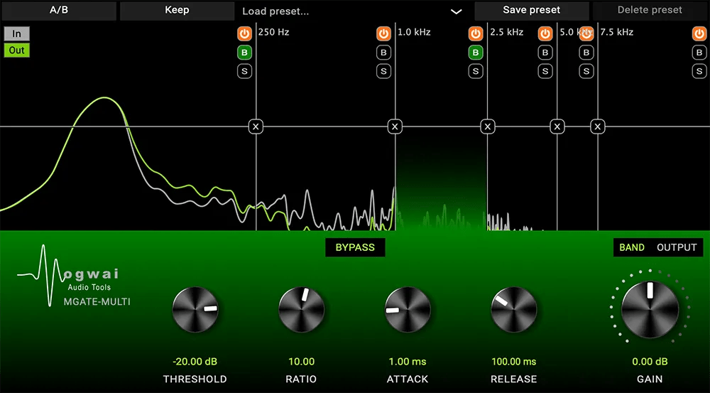 MGATE-MULTI | Audio plugins for free