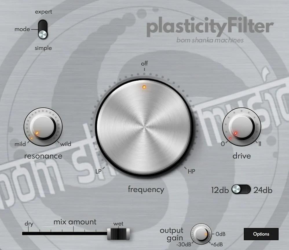 plasticityFilter   Audio plugins for free