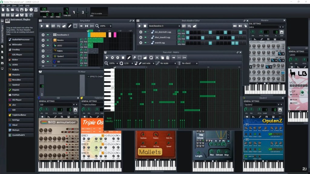 LMMS | Audio plugins for free