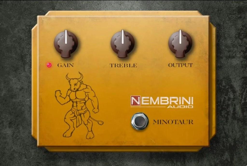 Clon Minotaur Transparent Overdrive   Audio plugins for free