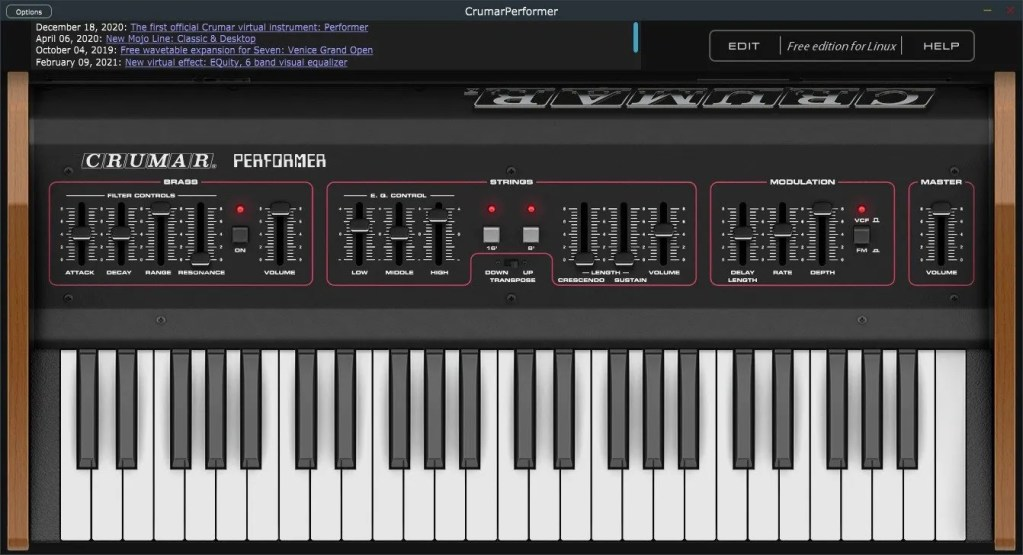 Crumar Performer   Audio plugins for free