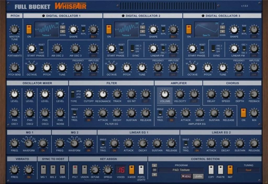 WhispAir | Audio plugins for free
