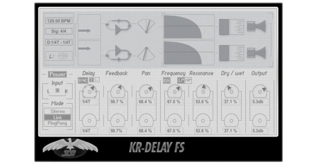 KR-Delay FS | Audio Plugins for Free