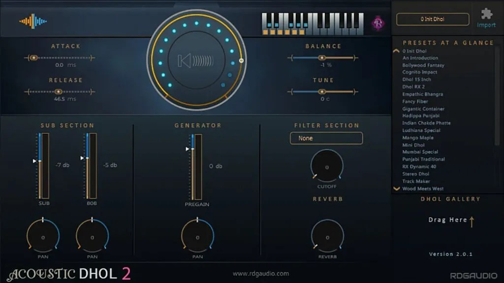 Acoustic Dhol 2 Lite | Audio Plugins for Free