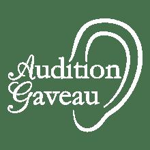 Logo audition gaveau blanc