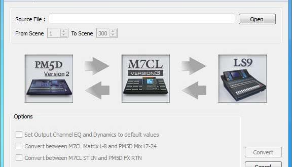 Yamaha Console file converter 7