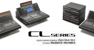 Yamaha anuncia a nova linha de consoles: CL Series 20