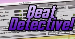 Edição no Pro Tools com o Beat Detective! 2