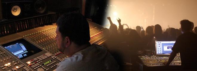 Do estúdio para o P.A 9