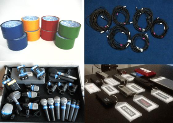 identificando equipamentos
