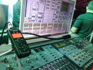 gravando show