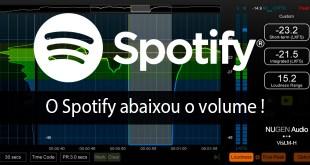 O Spotify abaixou o volume! 1
