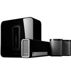 sonos 5 1 home theater system playbar sub play 1 wireless rears combination [ 1300 x 1300 Pixel ]