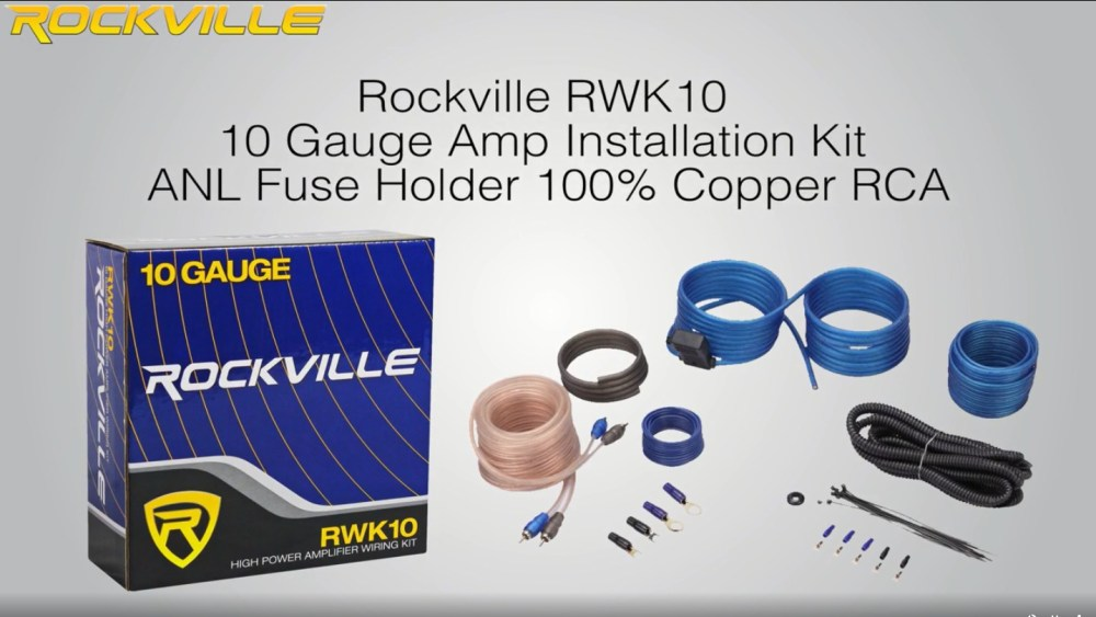 medium resolution of dual bak1500 10 1500w active powered under seat car subwoofer sub wire kit walmart com