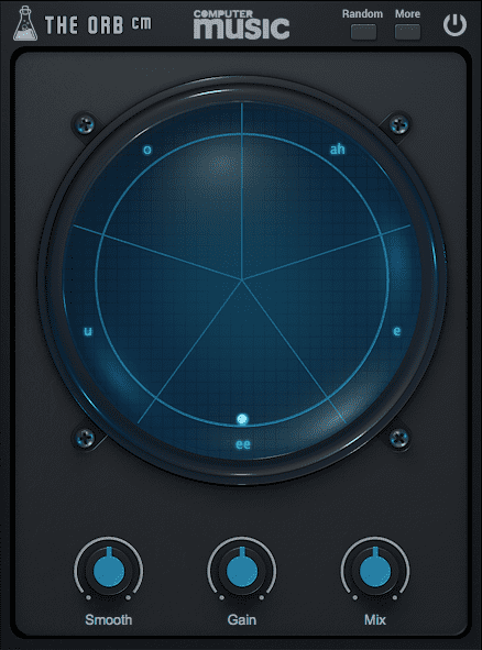 AudioThing The Orb - Formant Filter / Vowel Filter GUI