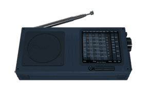 Radio (small) Impulse Response - Speakers