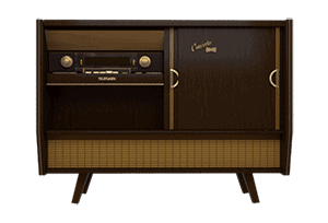 Vintage Telefunken Radio Impulse Response