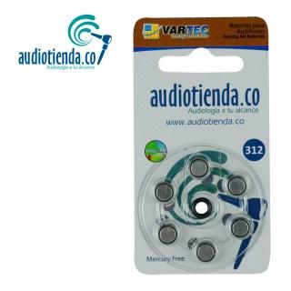 Pilas para audifonos Vartec audiotienda 312