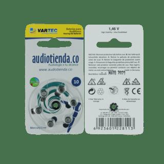 Pilas para audifonos vartec audiotienda 10