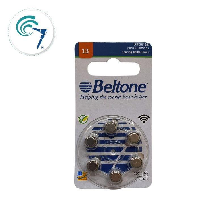 Pilas para audífono Beltone