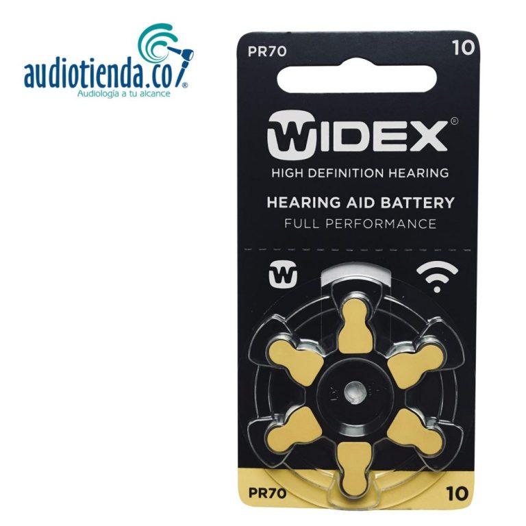 Pilas para audifonos widex 10