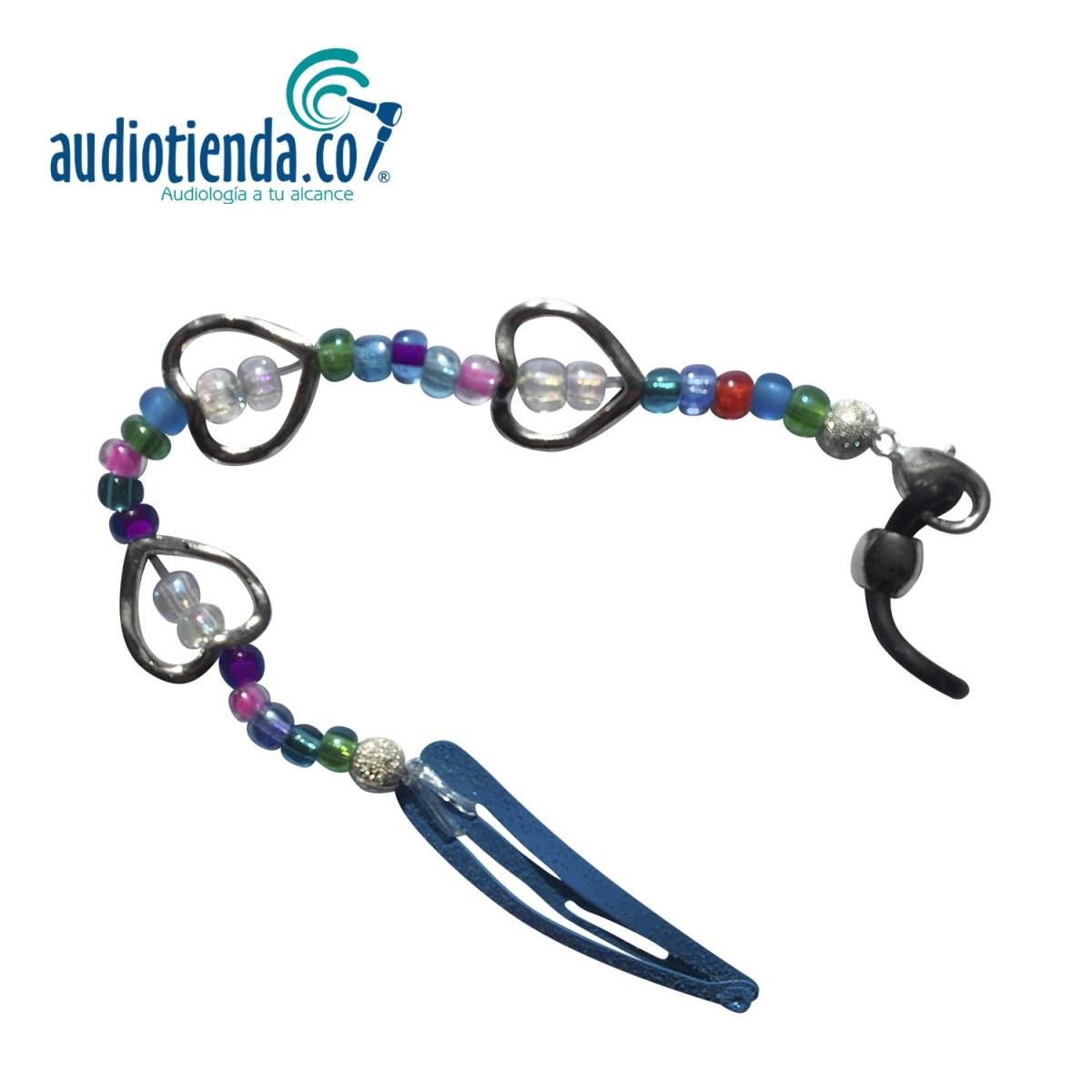 sujetador para audífono